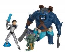 Trollhunter, 3 pcs Figurine Set, Jim