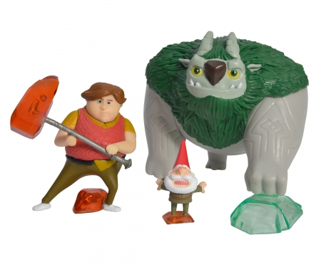 Trolljäger, 3er Figurenset, Tobi