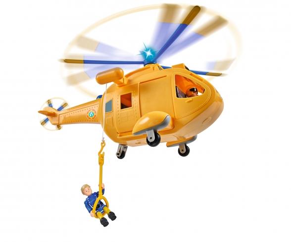 Sam Hubschrauber Wallaby II mit Figur