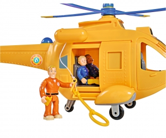 Sam Helicopter Wallaby II with Figurine