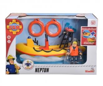 Sam Neptune, Boot mit Figur