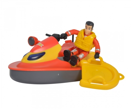 Sam Juno, Jet Ski mit Figur