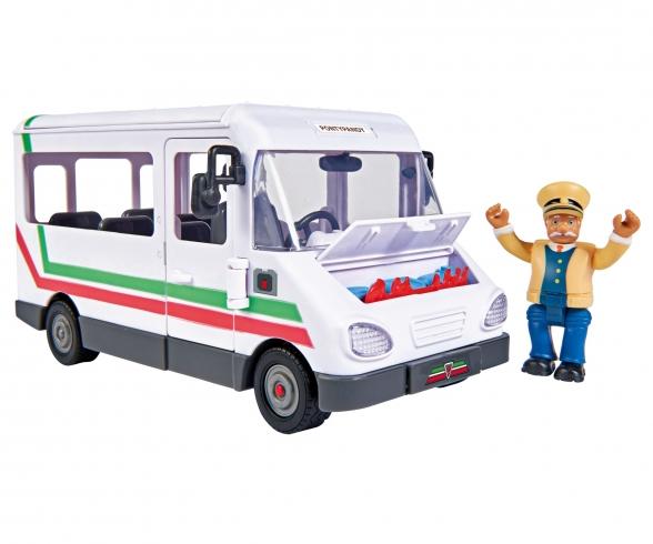 Sam Trevors Bus mit Figur