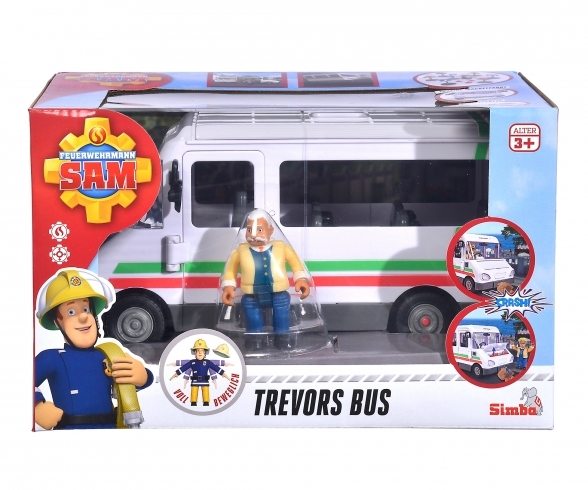 Sam Trevors Bus incl. Figurine