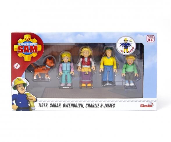 Sam Familie Jones Figurenset