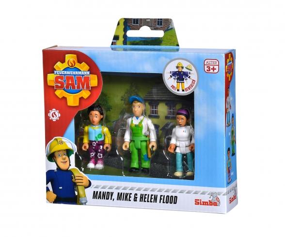 Sam Floods Family Figurine Set