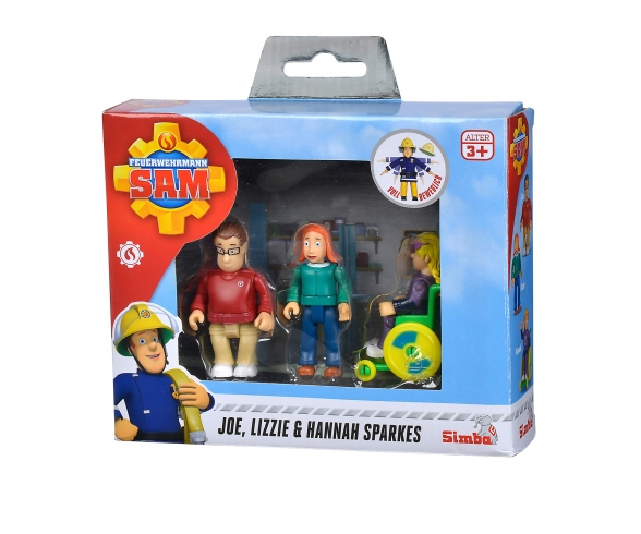 Sam Sparkes Family Figurine Set