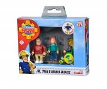 Sam Sparkes Family Figurine Set