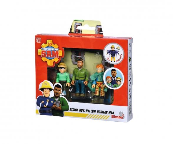 Sam Superhero Figurinen Set