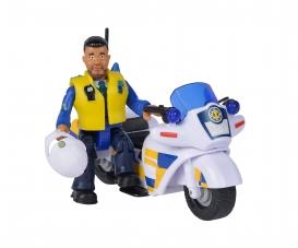 Sam Police Motorbike incl. Figurine