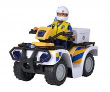 Sam Polizei Quad mit Figur