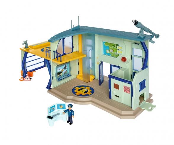 Sam Police Station with Figurine