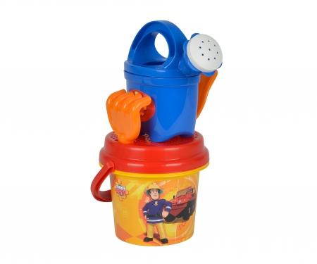 Seau garni pour bébé Sam le Pompier