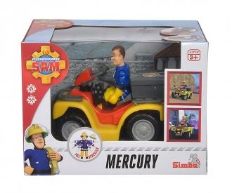 Sam Mercury-Quad mit Figur