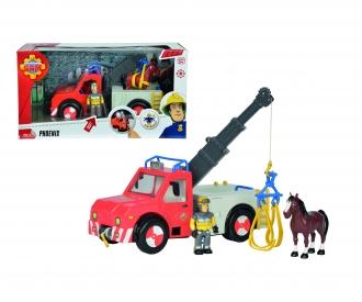 Sam Phoenix, figurine et cheval inclus