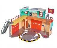 Sam nouvelle caserne des pompiers avec figurine