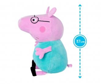 Peppa Pig Plüsch Papa Wutz, 37cm