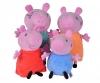 Peppa Pig 4 pcs. Familyset en voiture