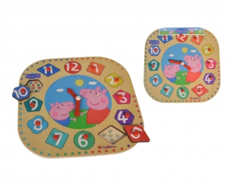 Peppa Pig, Teaching Clock