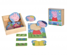 Peppa Pig Dress Up Puzzle