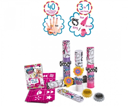 MBF Nail Art Glam Set