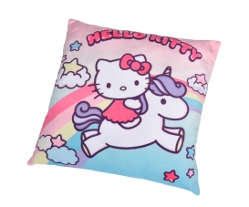 Hello Kitty Unicorn Plush Cushion, 35cm