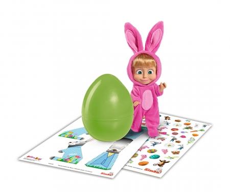 Masha in Rabbit Costume incl. Egg.