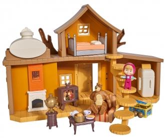 "Masha Play Set ""Big Bear House"""
