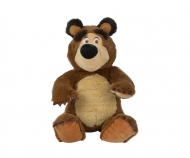 Masha Bean Bag Bear, 20cm, sitting