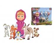 Masha und ihre Tierfreunde