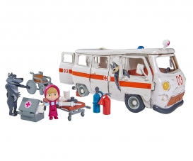"Masha Spielset ""Krankenwagen"""