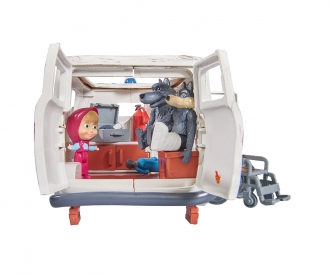 "Masha Playset ""Ambulance"""