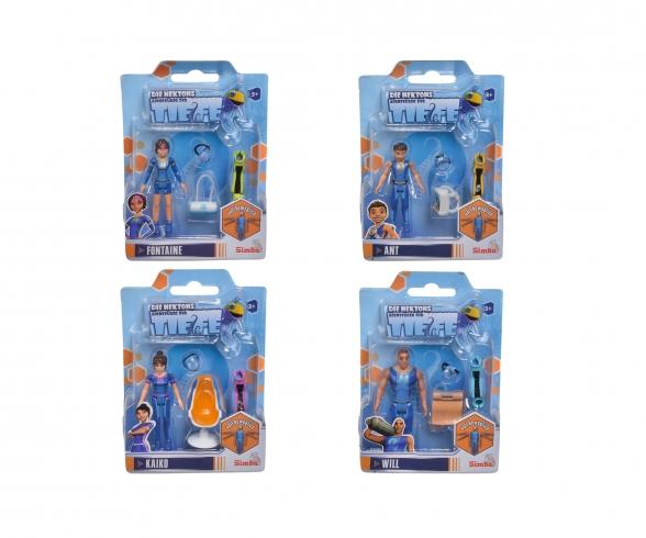 Deep, Nektons, poseable Figurines, 4-ass.