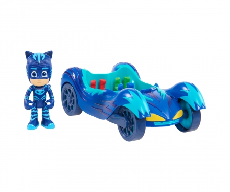 PJ Masks Cat Boy with Vehicle