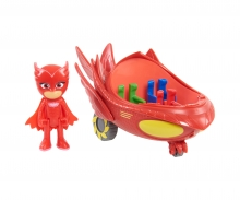 PJ Masks Owlette with Owl Glider