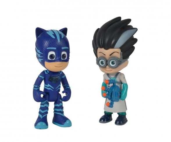 PJ Masks Figurenset Catboy+Romeo