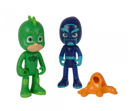 PJ Masks Figuren Set Gecko+Ninja