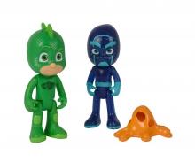 PJ Masks Figuren Set Gecko+Ninja