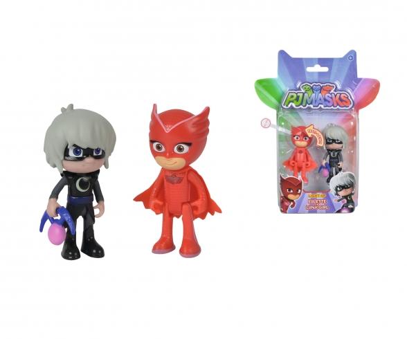 PJ Masks Figuren Set Eulette+Luna