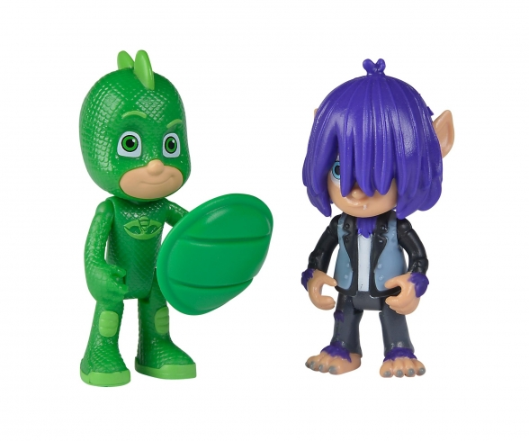 PJ Masks Figuren Set Gecko+Kevin