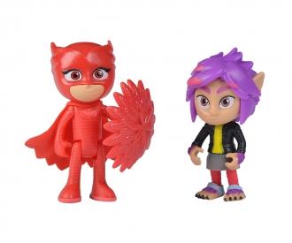 PJ Masks Figurine Set Owlette+Rip
