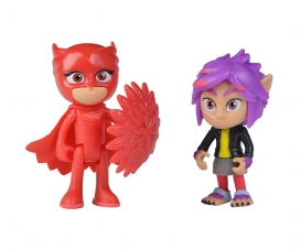 PJ Masks Figurine Set Owlette+Rip