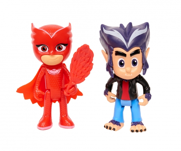 PJ Masks Figurine Set Owlette+Howler