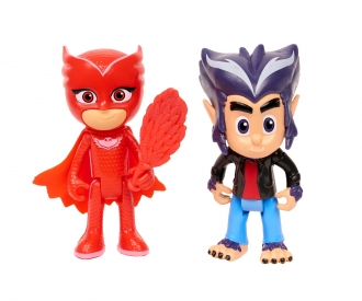 PJM Figurine Set Owlette+Howler