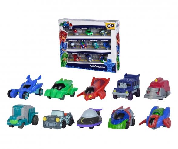 PJM Mini Vehicles Deluxe Set