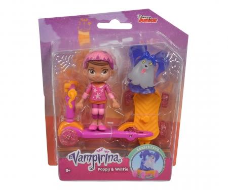Vampirina Scooter Poppy and Wolfie