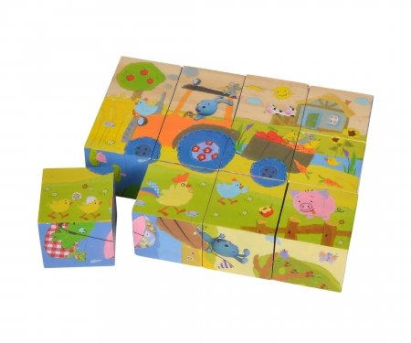 KiKANiNCHEN Picture Cubes