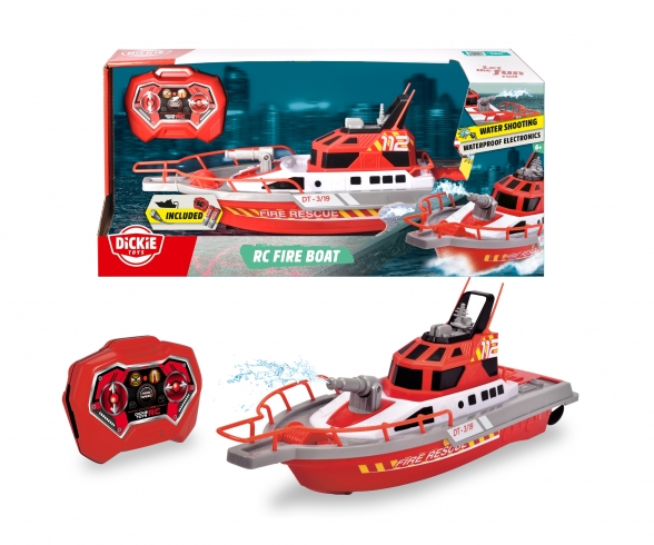 Fire Boat, radio-controlled