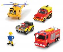 Sam Le Pompier Fire Rescue Team Set
