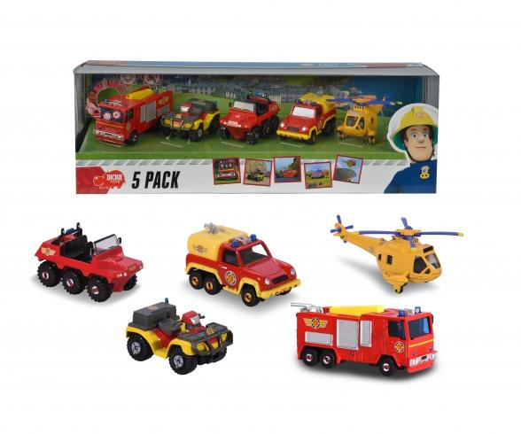 Feuerwehrm. Sam 5 Pack